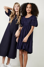 GIRLS LIANNA WIDE LEG JUMPSUIT in colour BLACK IRIS