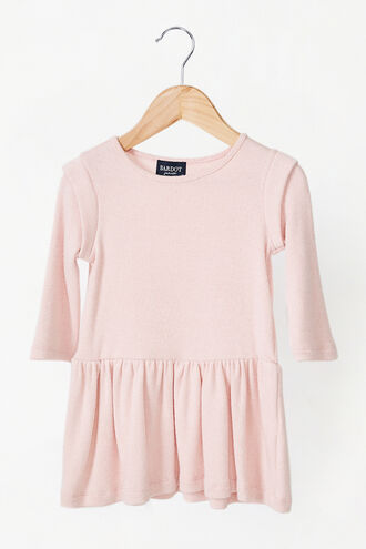 LIANI SOFT TOUCH DRESS in colour SEASHELL PINK