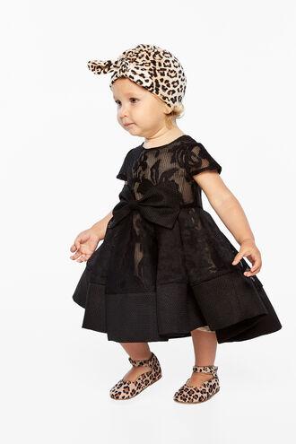 LOLA STARLET DRESS in colour CAVIAR