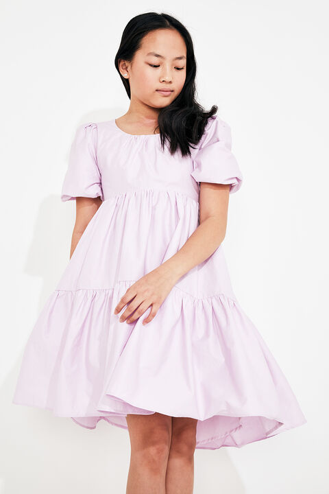 TWEEN GIRL TIE BACK TIERED DRESS