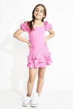 GIRLS SIMONA MINI DRESS in colour SACHET PINK