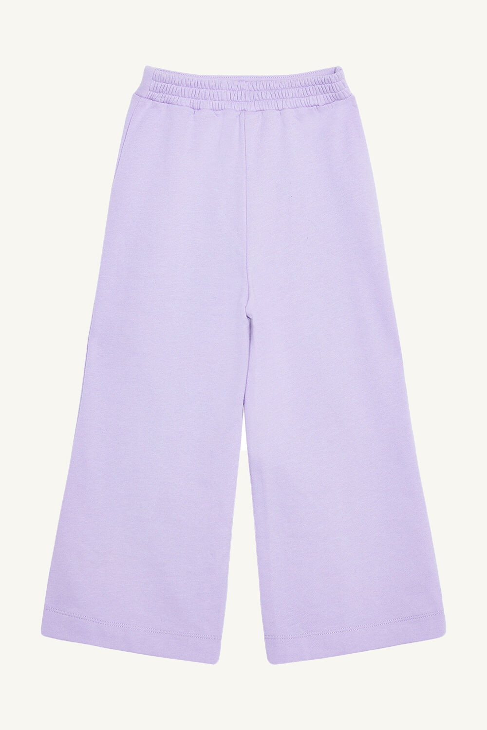 TWEEN GIRL TAILORED TRACK PANT in colour LILAC CHIFFON