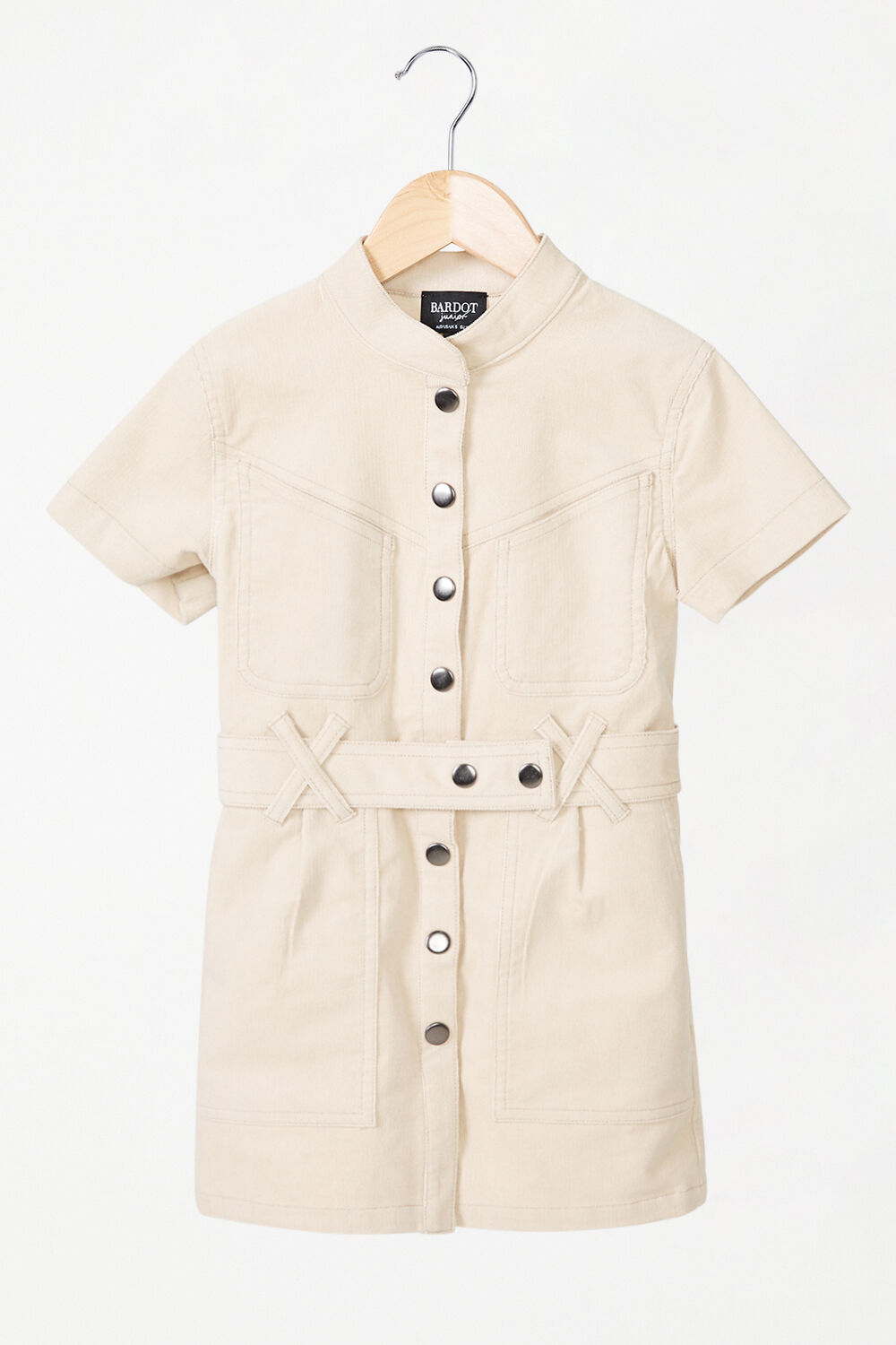 GIRLS STACEY CORD DRESS in colour MOONLIGHT