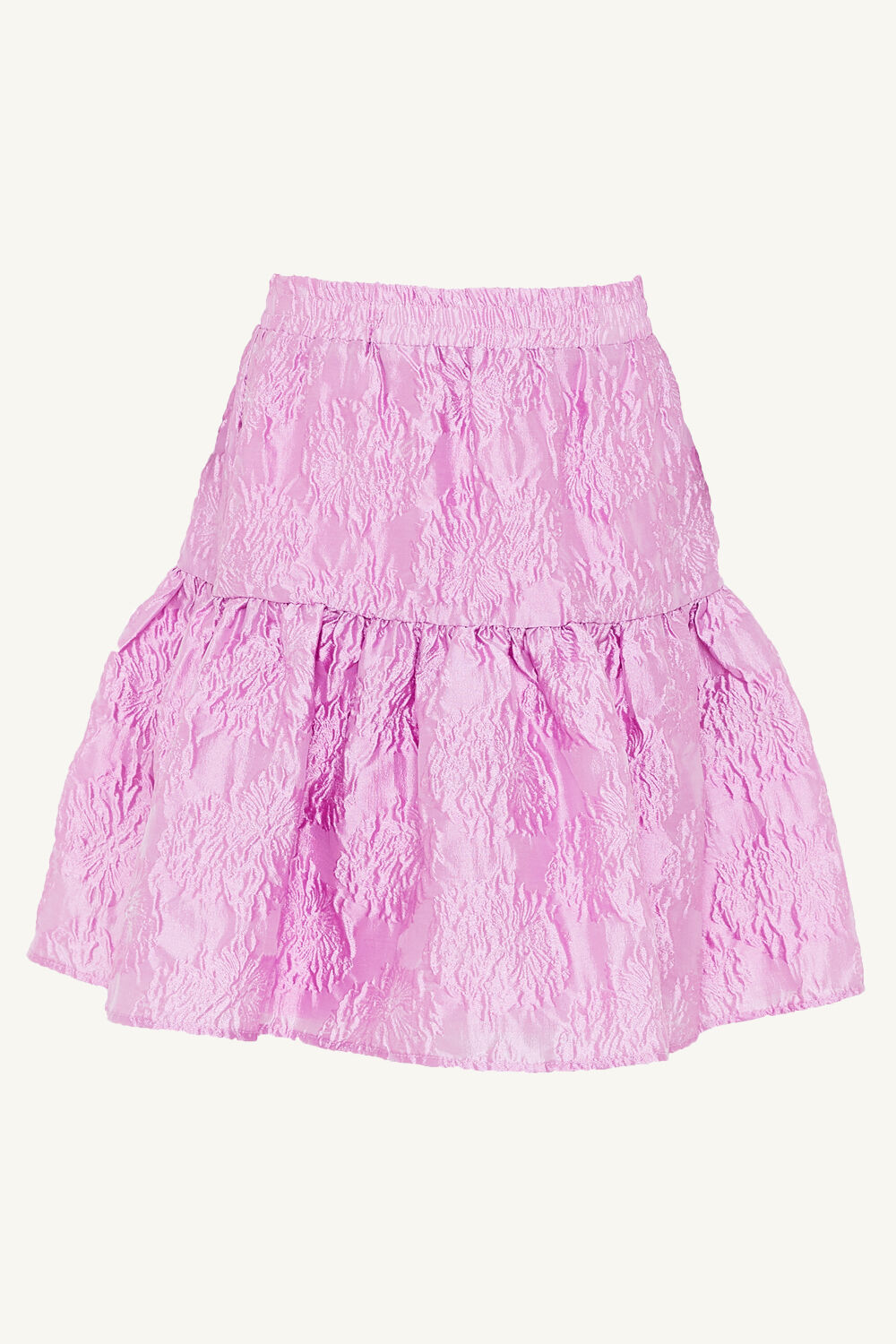 TWEEN GIRL DEMI SKIRT in colour LILAC SNOW