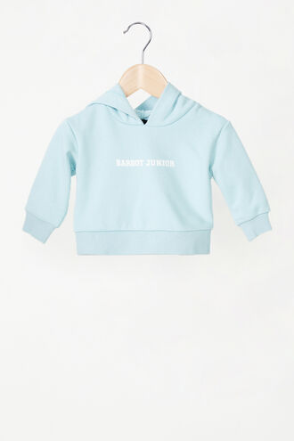 THE JUNIOR SWEAT  in colour CERULEAN