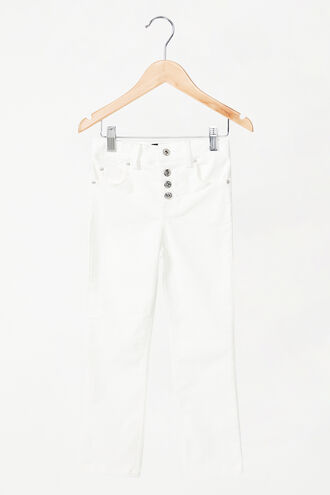 ESTELLE CORD PANTS in colour CLOUD DANCER