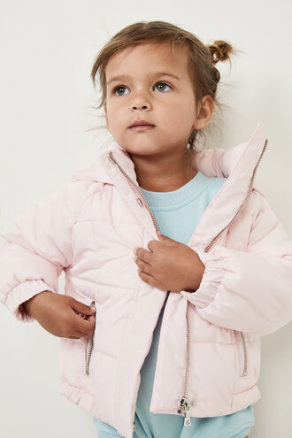 MEIKA PUFFA JKT in colour PEACH BLUSH