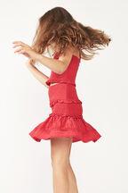 TWEEN GIRL NIA TOP in colour FIESTA