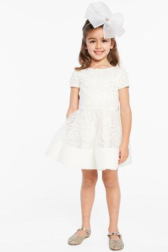 BELLA STARLET DRESS in colour CLOUD DANCER