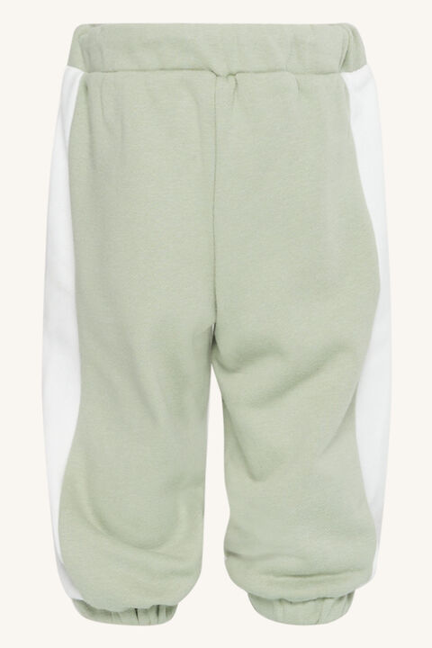 BABY SPLICED SWEAT PANT in colour VINTAGE KHAKI