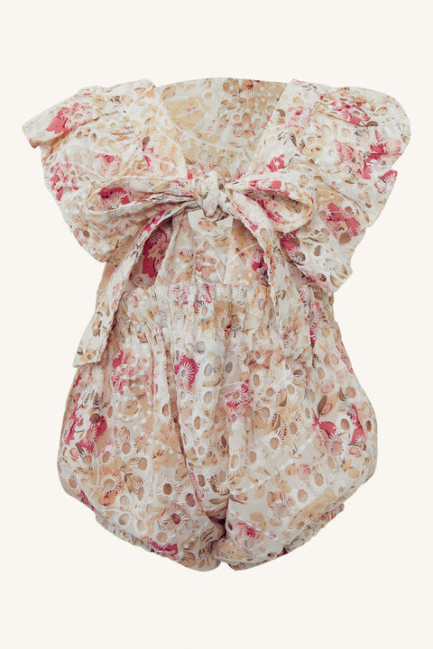 BABY GIRL FRANKIE RUFFLE GROW in colour SACHET PINK