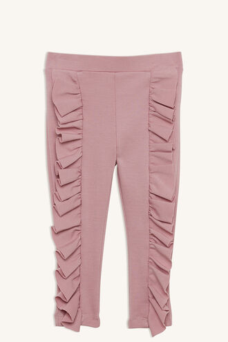 TANNER RUFFLE PANT in colour ZEPHYR
