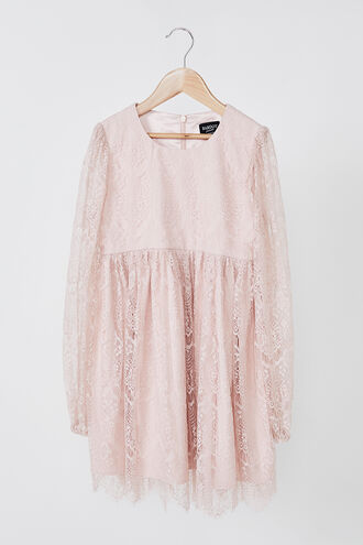 FIONA MINI LACE DRESS in colour TUSCANY