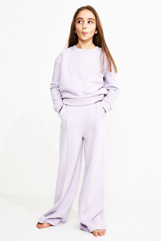 TAILORED TRACK PANT in colour LILAC CHIFFON