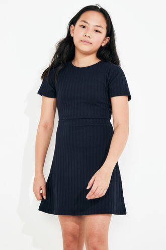 ZALIA TWIST DRESS in colour OLYMPIAN BLUE
