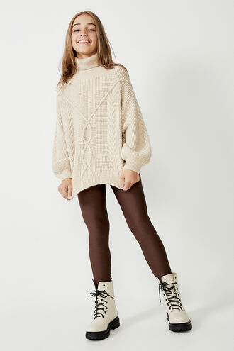 KARA KNIT JUMPER in colour MOONLIGHT