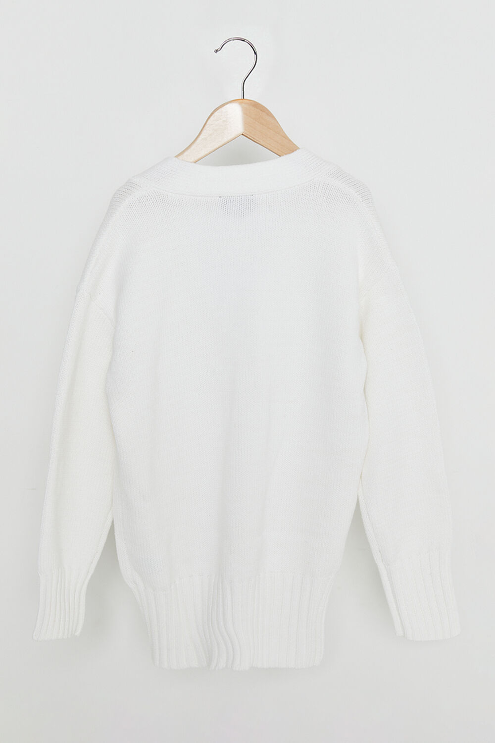 TWEEN GIRL OLIVIA OVERSIZED CARDIGAN  in colour CLOUD DANCER