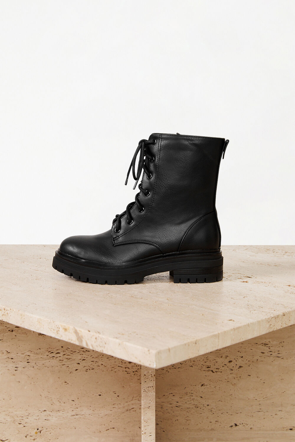 GIRLS ISABELLE LACE UP BOOT in colour METEORITE