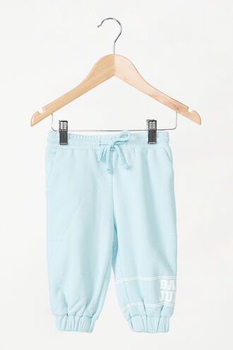 THE SWEAT PANT in colour CERULEAN