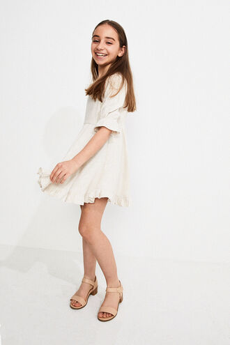 ALLIRA FRILL DRESS in colour MOONLIGHT