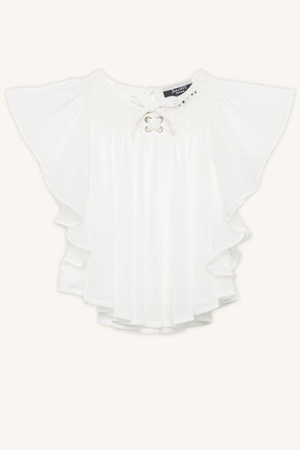 ANGEL TOP in colour BRIGHT WHITE