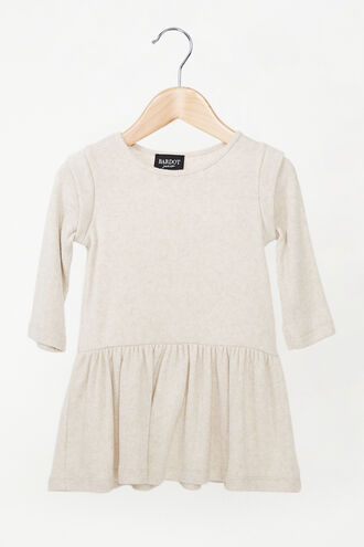 LIANI SOFT TOUCH DRESS in colour BEIGE