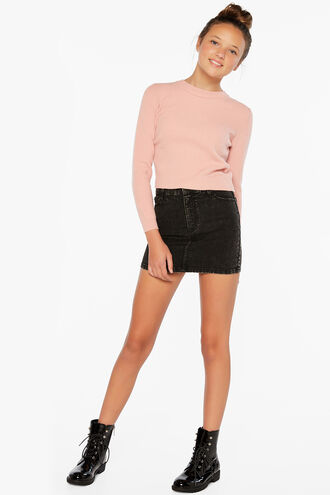 CARA TWIST SWEATER in colour PRIMROSE PINK
