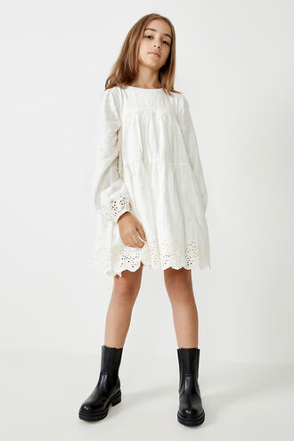 ARIANNA MINI DRESS in colour CLOUD DANCER