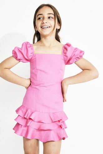 SIMONA MINI DRESS in colour SACHET PINK