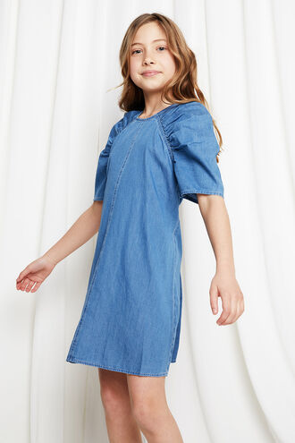 KATE SHIFT DRESS in colour CASHMERE BLUE