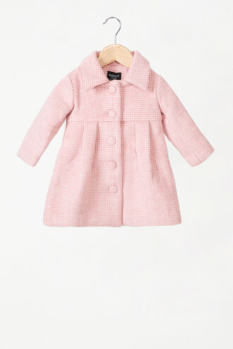 LA BELLE COAT in colour PEACH BLUSH