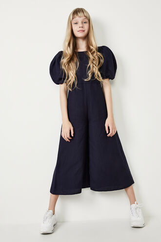 LIANNA WIDE LEG JUMPSUIT in colour BLACK IRIS