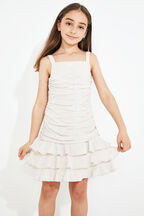 TWEEN GIRL DENNIE MINI DRESS in colour MOONLIGHT