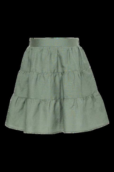 GIRLS TESSA MINI SKIRT in colour IVY GREEN