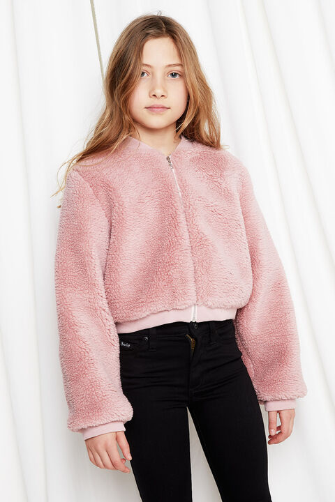 JUNIOR GIRL TEDDY BOMBER