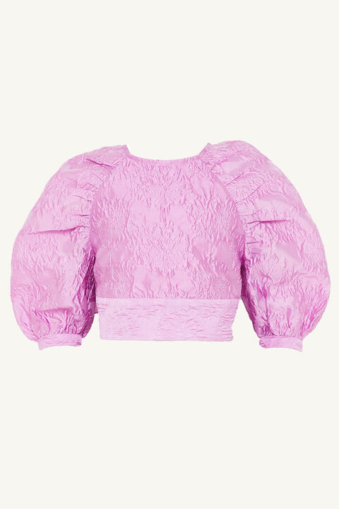 TWEEN GIRL LORIANA TOP in colour LILAC SNOW