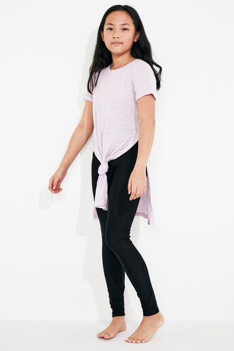 TYLA TEE in colour GRAY LILAC