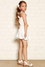 JUNIOR GIRL NIA TOP in colour BRIGHT WHITE