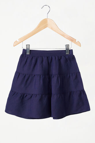 TESSA MINI SKIRT in colour MARITIME BLUE