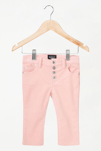 ESTELLE CORD PANTS in colour SEASHELL PINK