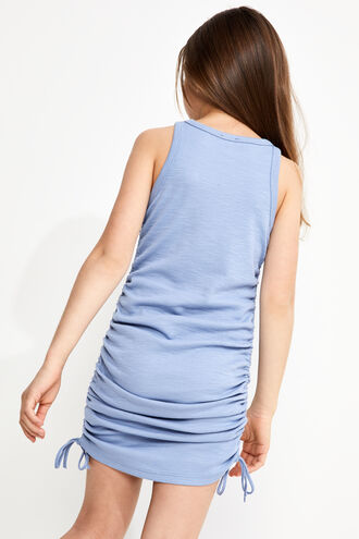 MARI TANK DRESS in colour SKY CAPTAIN