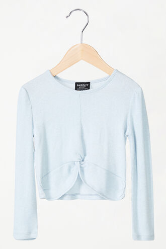 PETRA TWIST TOP in colour BABY BLUE