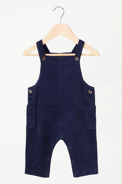 BABY GIRL LARISSA OVERALLS in colour BLACK IRIS