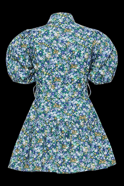GIRLS ASHA MINI SHIRT DRESS in colour STAR WHITE
