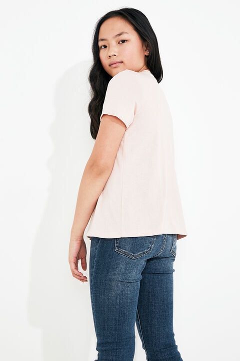 TWEEN GIRL BDT STATEMENT TEE  in colour TUSCANY