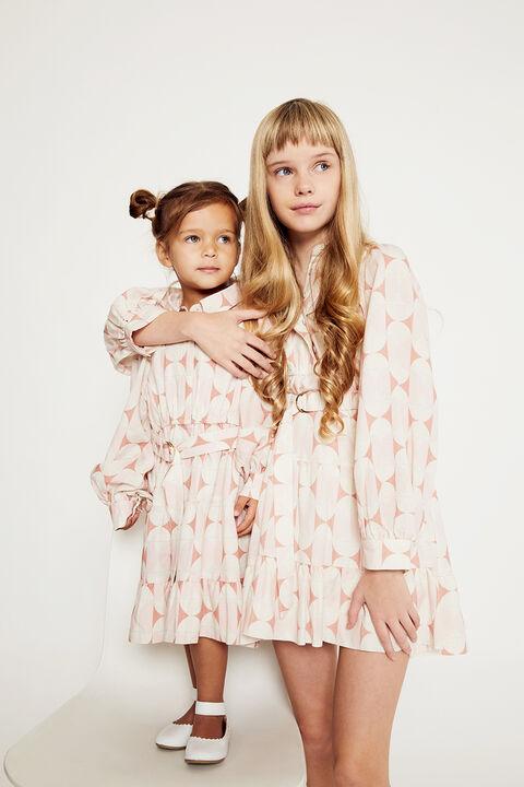 GIRLS THE MINI SHIRT DRESS in colour SKYWAY