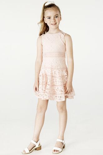 ELISE LACE DRESS in colour MOOD INDIGO