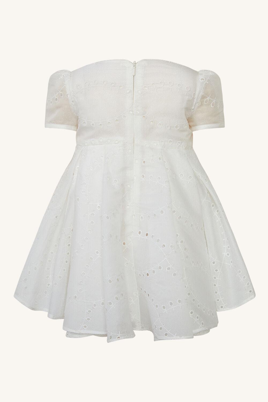 baby girl rue mini dress in colour WHISPER PINK